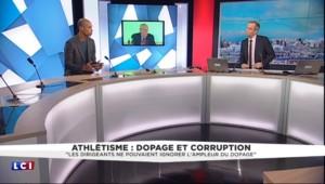 """Dopage dans l'athlétisme : Stéphane Diagana regrette qu'il y ait """"pas mal de contradictions"""""""