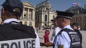 Le 13 heures du 18 juillet 2014 : Des policiers �angers pour s�riser Versailles - 1308.441098083496