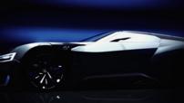 Le concept virtuel aux allures sportives de Subaru spécialement développé pour Gran Turismo 6 : le Viziv GT.