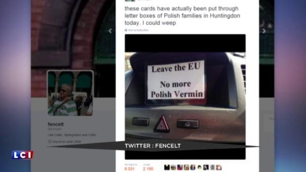 """""""Stop à la vermine polonaise"""" : depuis le Brexit, l'inquiétante montée des actes xénophobes"""