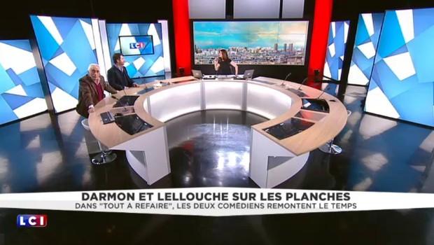 """""""Tout à refaire"""", en terrasse Darmon et Lellouche refont la vie"""