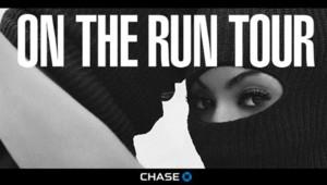 Beyoncé et Jay-Z sur l'affiche On The Run Tour