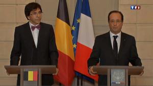Florange : Hollande ne rejette pas l'idée d'une nationalisation