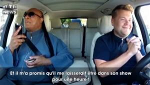 Stevie Wonder joue les messagers de l'amour dans un show télévisé