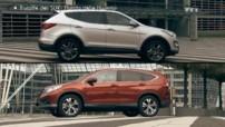 Hyundai Santa Fé contre Honda CR-V