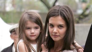 Katie Holmes et sa fille Suri à New York en avril 2010