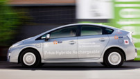 Strasbourg, ville test pour 100 Toyota Prius rechargeables