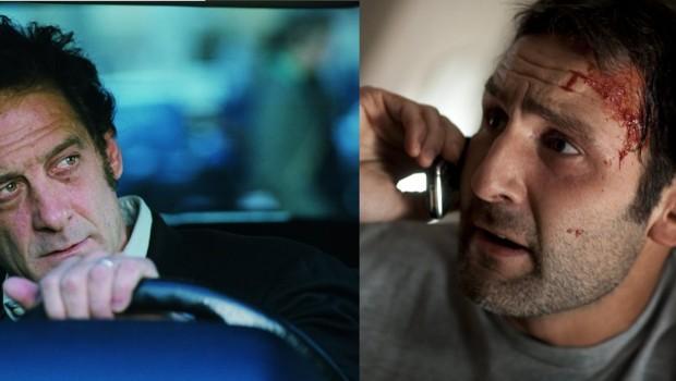 """Vincent Lindon dans """"Pour elle"""" et Gilles Lellouche dnas """"A bout portant"""""""
