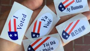 vote USA primaire démocrate Californie