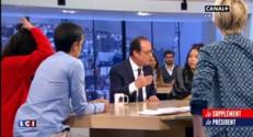"""François Hollande au """"Supplément"""" de Canal + : les annonces du chef de l'Etat"""