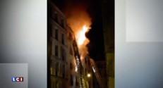 Incendie à Paris : un témoin raconte ce qu'il a vu