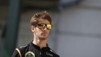 Romain Grosjean - Lotus - GP Hongrie 2014