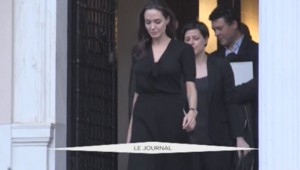 Angelina Jolie Grèce Migrants Capture
