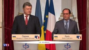 """Brexit : Hollande souhaite la réponse """"la plus confiante dans l'avenir de l'Europe"""""""