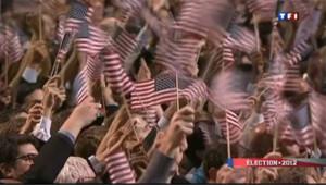Elections USA 2012 : la liesse à Chicago