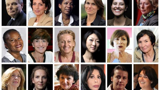 Les 17 femmes du gouvernement Ayrault