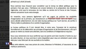 Les Républicains : Juppé, Fillon, Bertrand et Le Maire demandent à Sarkozy de se consacrer à la primaire