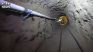 Tunnel et wagonnets... Quand les narcotrafiquants mexicains jouent à Indiana Jones