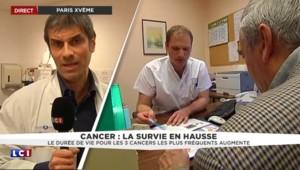 Cancer : la survie s'améliore en France, un cancérologue avance deux raisons pour l'expliquer