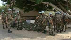 LCI-TF1, des soldats de la Finul au Liban