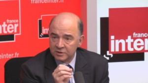 Pierre Moscovici, le ministre de l'Economie, invité sur France Inter, le 15 avril 2013.