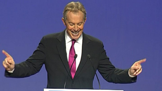 Tony Blair au Conseil national de l'UMP