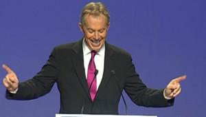 Tony Blair au Conseil national de l'UMP