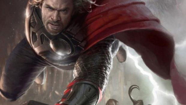 The Avengers de Joss Whedon- Poster Thor Chris Hemsworth