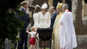 Baptême de la princesse Charlotte, 5 juillet 2015