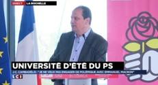 """Cambadélis """"ne veut pas engager de polémique"""" avec Macron"""