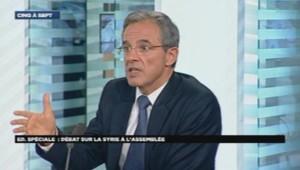 Thierry Mariani, député UMP sur LCI