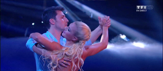Un Foxtrot pour Brian Joubert et Katrina Patchett sur « Feel » (Robbie Williams)