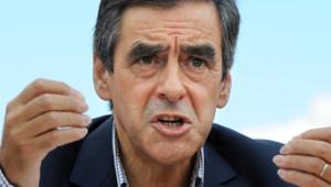 François Fillon dans la Sarthe en août 2012