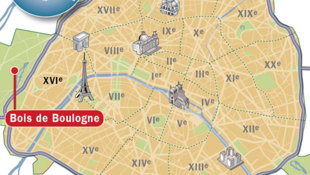 Image Bois De Boulogne : Corps calcin? dans le bois de Boulogne : la victime tu?e de