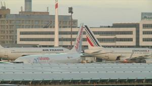 L'aéroport de Roissy-Charles-de-Gaulle le 25 décembre 2010.