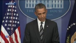 """Obama : """"Je viens de parler au téléphone avec le président iranien Rohani"""""""