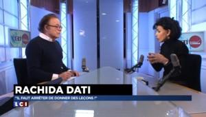 """Rachida Dati : """"Les partis politiques doivent arrêter de vivre dans leur petit confetti entre eux"""""""