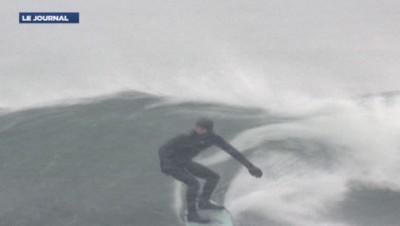 Surfeur en Russie