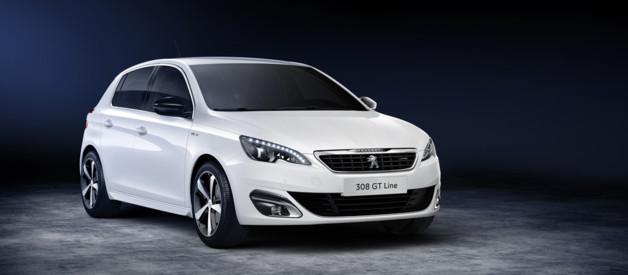 La nouvelle finition GT Line de Peugeot appliquée à la berline compacte et au break SW 308.