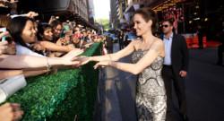 Angelina Jolie à Sydney pour l'avant-première du film Invincible le 18 novembre 2014