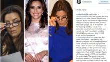 Eva Longoria sur Instagram le 28 juillet 2015.