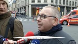 """Incendie au Ritz : """"Pas de propagation possible sur les bâtiments avoisinants"""""""