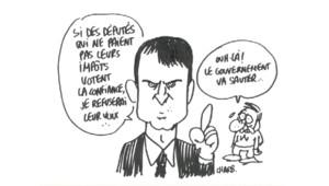 L'actu croquée par Charb, 16 septembre 2014.