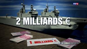 Le 20 heures du 12 août 2015 : Mistral russes : la facture finale s'élèverait à 2 milliards d'euros - 501