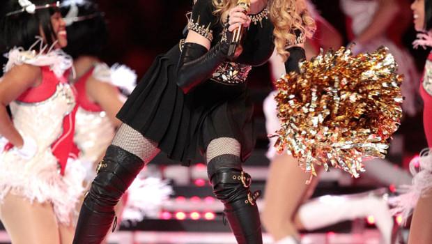 Madonna en concert - Superbowl février 2012