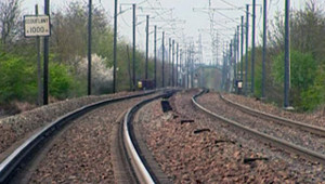 TF1/LCI TGV train rail SNCF voie Saint-Sylvain d'Anjou