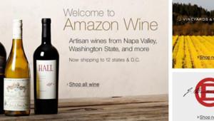 www.amazon.com/wine, le site de vin d'Amazon.com