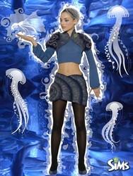 Sims Ocean, gagnant du concours de l'Esmod Lyon pour Les Sims