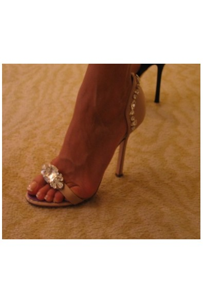 chaussure strass