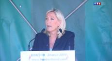 Le 13 heures du 30 août 2014 : Marine Le Pen fait sa rentr��rachay - 343.58700000000005